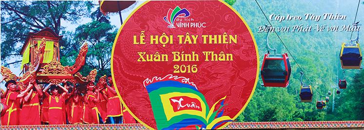 Lễ hội Tây Thiên 2016