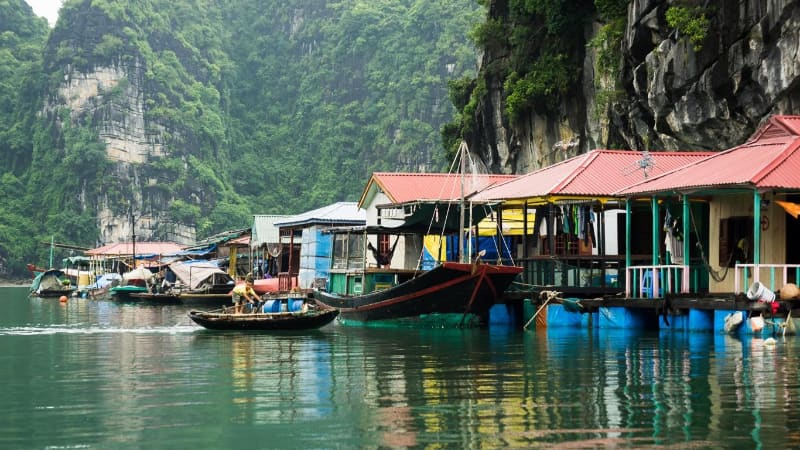 Christmas in Ha Long Bay