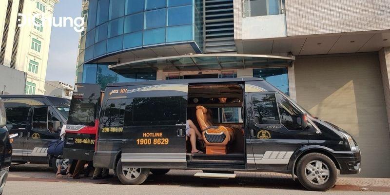 xe limousine hà nội giao thuỷ